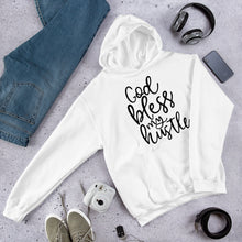 Load image into Gallery viewer, Hustle Hooded Sweatshirt +Colors - Efizy Tees