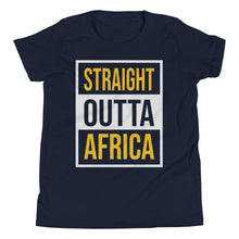 Load image into Gallery viewer, Outta Africa Youth Short Sleeve T-Shirt +Colors - Efizy Tees