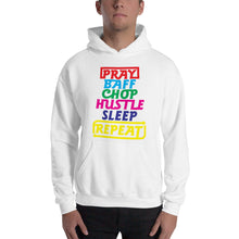 Load image into Gallery viewer, Pray Baff Chop Unisex Hooded Sweatshirt +Colors - Efizy Tees