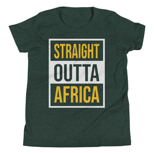 Outta Africa Youth Short Sleeve T-Shirt +Colors - Efizy Tees