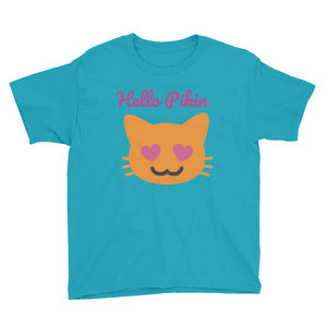 Hello Pikin Girls Short Sleeve T-Shirt +Colors - Efizy Tees
