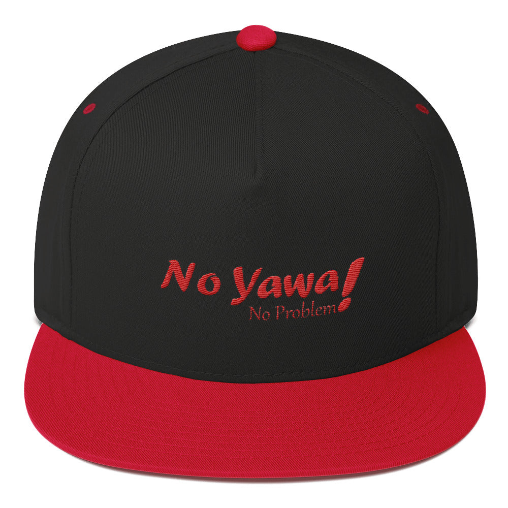 No Yawa Flat Bill Cap - Efizy Tees