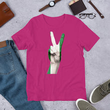 Load image into Gallery viewer, Nigerian Peace Hand Short-Sleeve Unisex T-Shirt - Efizy Tees