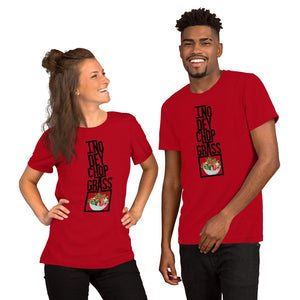 "No ""Grass"" Short-Sleeve Unisex T-Shirt +Colors - Efizy Tees"