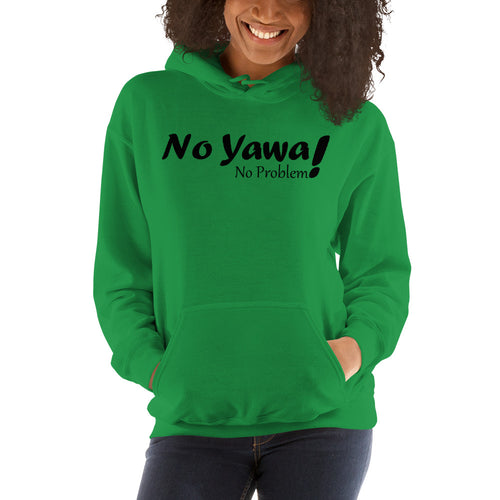 No Yawa Unisex Hooded Sweatshirt +Colors - Efizy Tees