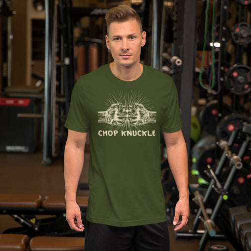 Chop Knuckle Short-Sleeve Unisex T-Shirt +Colors - Efizy Tees