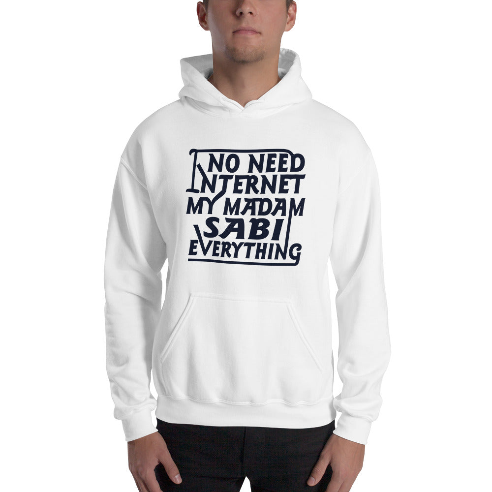 Madam Sabi Hooded Sweatshirt +Colors - Efizy Tees