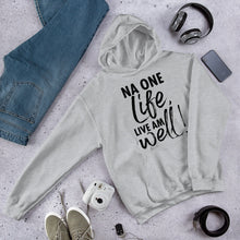 Load image into Gallery viewer, One Life Hooded Sweatshirt +Colors - Efizy Tees