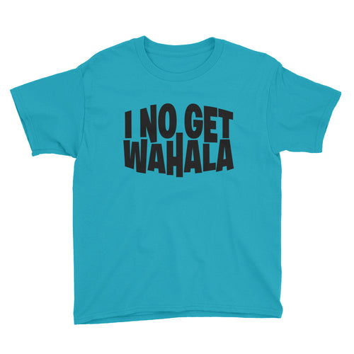 No Wahala Youth Unisex Short Sleeve T-Shirt +Colors - Efizy Tees