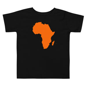 Africa Toddler Short Sleeve Tee +Colors - Efizy Tees