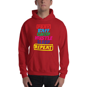 Pray Baff Chop Unisex Hooded Sweatshirt +Colors - Efizy Tees