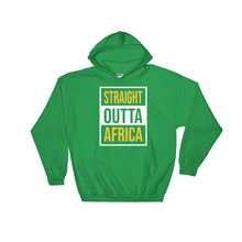 Load image into Gallery viewer, Outta Africa Unisex Hooded Sweatshirt +Colors - Efizy Tees