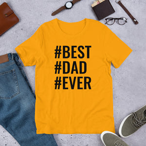 Best Dad! Short-Sleeve Unisex T-Shirt - Efizy Tees