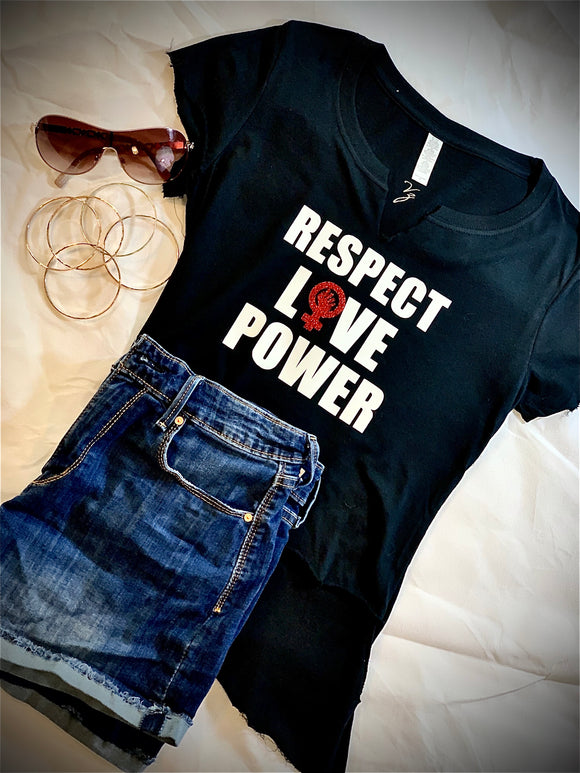 RESPECT, LOVE, POWER | T-shirt
