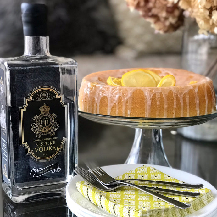 LEMON VODKA CAKE -HH BESPOKE SPIRITS