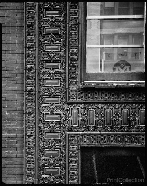 Cable Building, Exterior Decorative Detail, Chicago