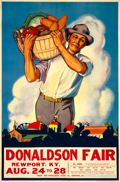 Donaldson State Fair Poster