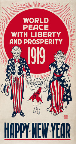 World Peace with Liberty and Prosperity 1919