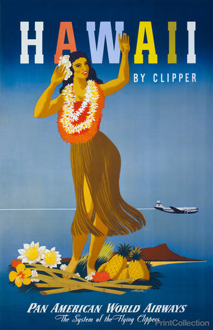 Hawaii by Clipper Ship