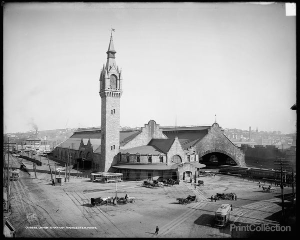 Union Station, Worcester, MA