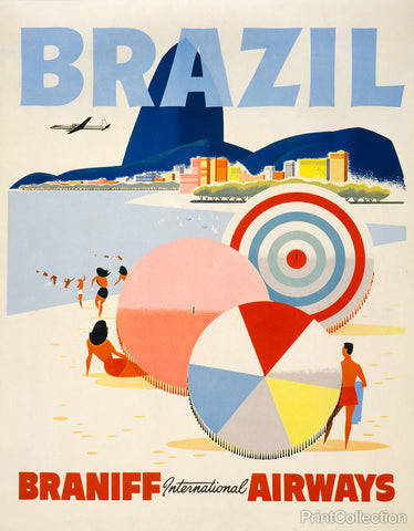 Brazil, Braniff International Airways