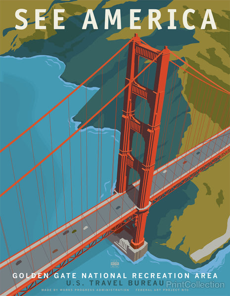 See America, Golden Gate Bridge National Recreation Area