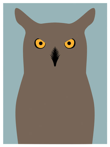 Great horned Owl, Day