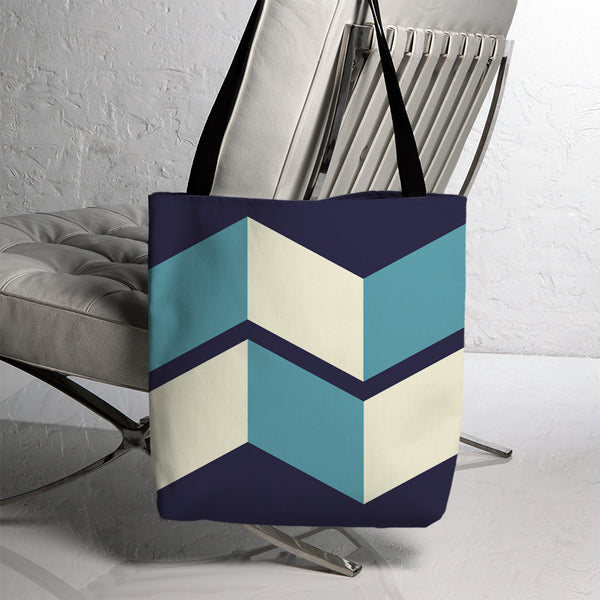 Geometric Montague Tote 8