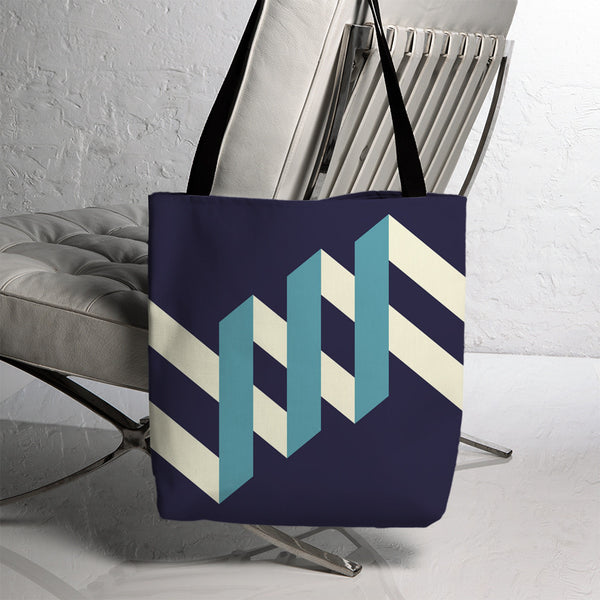 Geometric Montague Tote 9