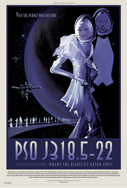 PSO J318.5-22 - Where the Nightlife Never Ends