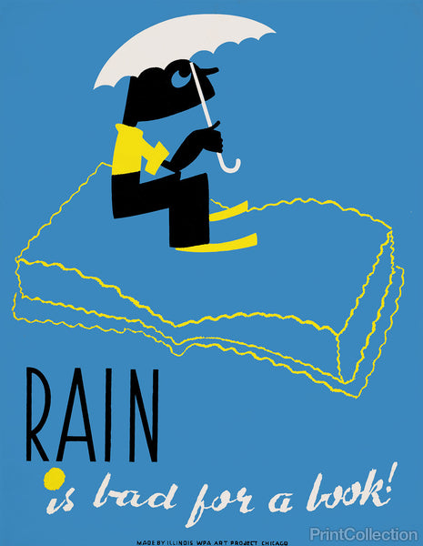 Rain is Bad for a Book