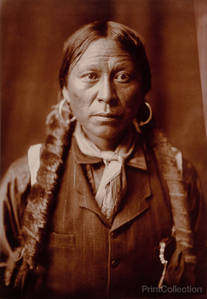 A Jicarilla Man, by Edward Curtis