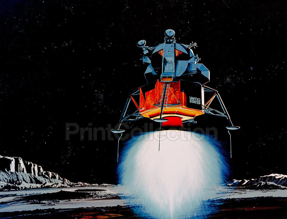 Print Collection Apollo 11 Lunar Module
