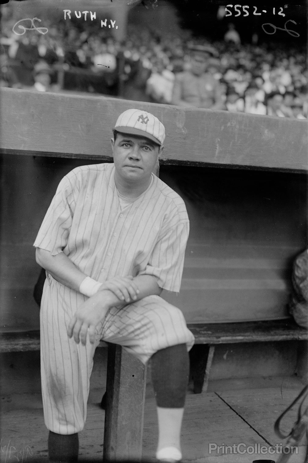 Print Collection Babe Ruth New York