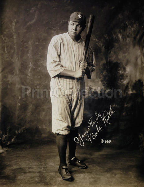Babe Ruth Portrait, 1920