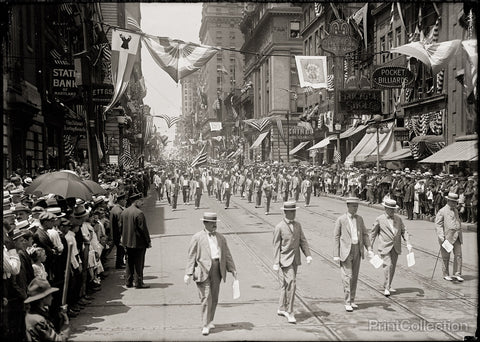 Baltimore, Elk Parade, 1916