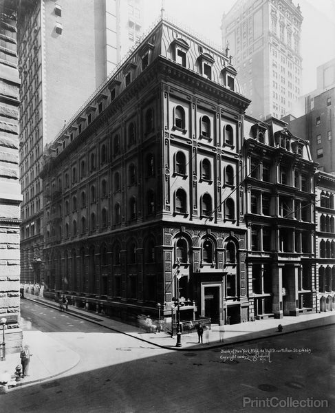 Bank of New York Building, Downtown New York