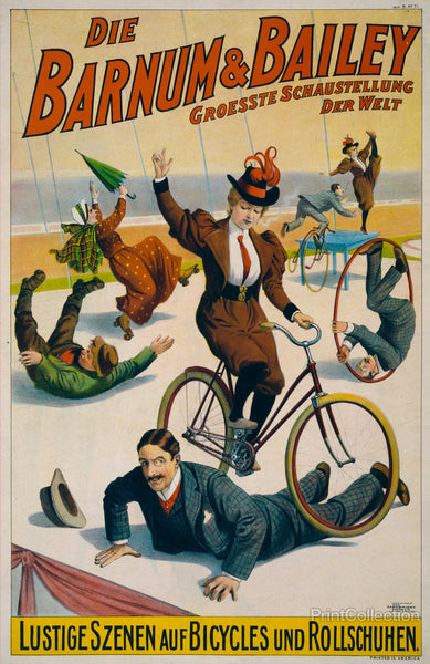 Barnum & Bailey Goes Germany, 1900