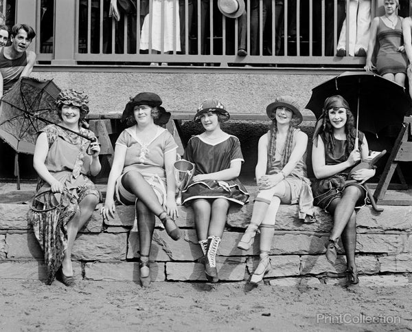 Bath Costume Contest, 1921