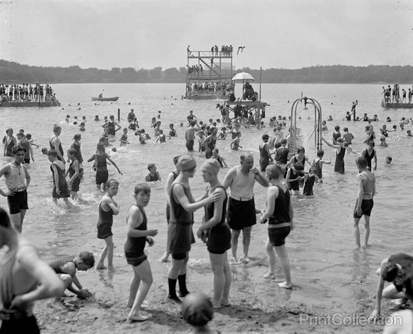 Bathing Beach, 6/19/1924
