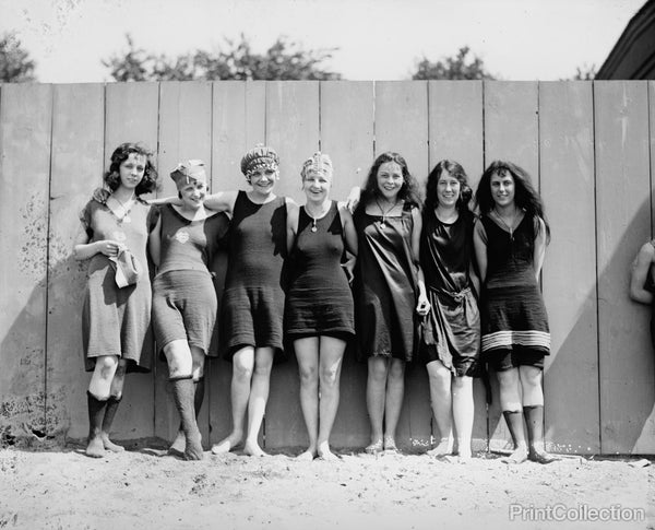 Bathing Beach Babes, 1920