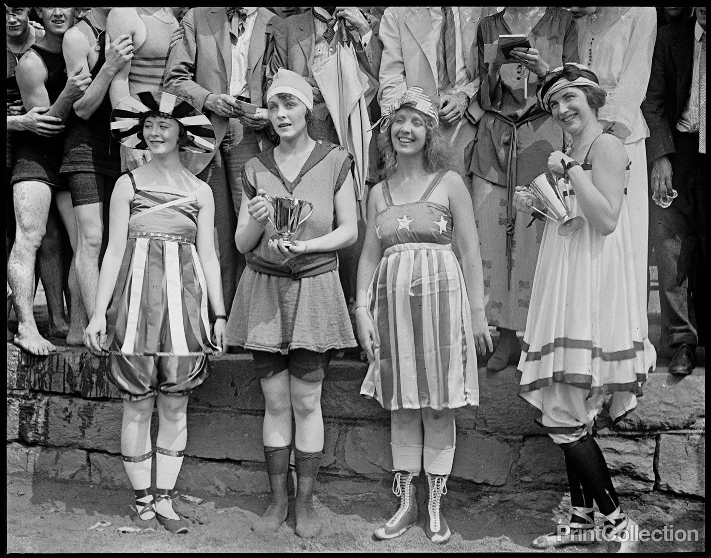 Bathing Beach Parade, 1919