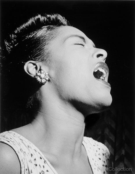 Billie Holiday, Downbeat, New York, N.Y., ca. Feb. 1947