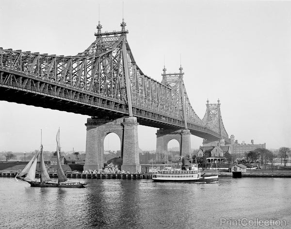 Blackwell's Island, Queensboro Bridge, New York, N.Y.