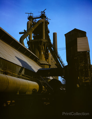Blast Furnace at Carnegie Steel Etna, PA