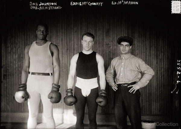 Boxers Black and White, 1912