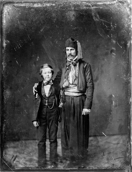 Boy and Man with Fez
