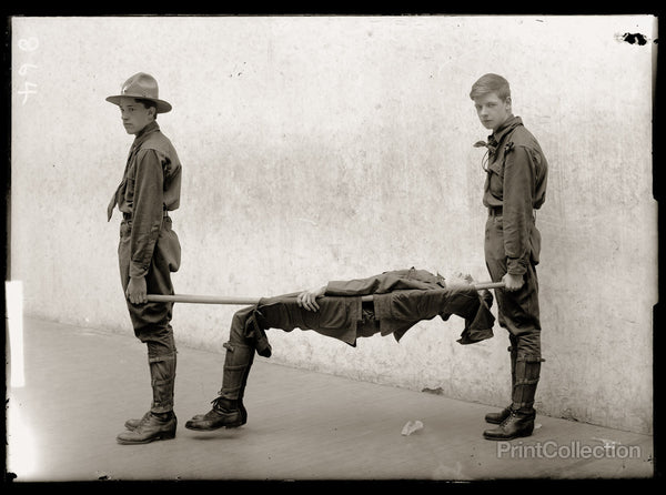 Boy Scouts Training Demonstration