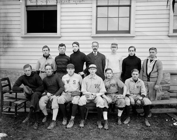 Boys School Baseball 1906
