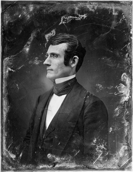 Brady Portrait of Unidentified Man